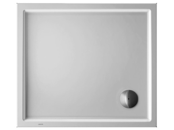 Rectangular acrylic shower tray STARCK | 90 x 80 - DURAVIT
