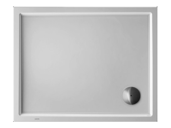 Rectangular acrylic shower tray STARCK | 100 x 80 by Duravit