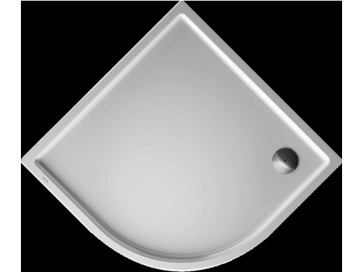 Acrylic shower tray STARCK | 100 x 100 - DURAVIT