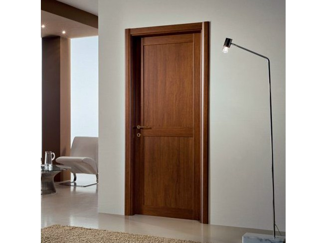 Hinged laminate door GENIA | Hinged door - GIDEA