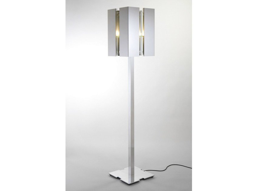 Direct light floor lamp with dimmer QUARTET | Floor lamp by Quasar