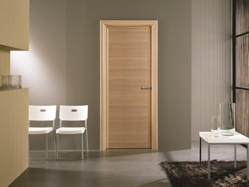 Porta a battente in laminato antha porta in laminato gidea - Verniciare porte interne laminato ...