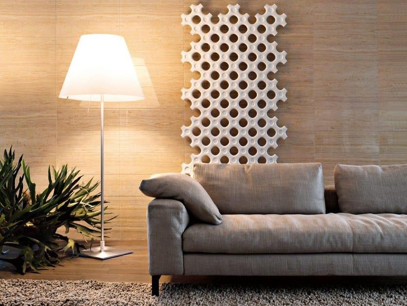 Vertical wall-mounted decorative radiator ADD-ON   Vertical decorative radiator by Tubes Radiatori