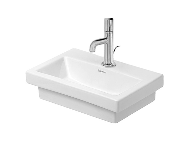 Rectangular ceramic handrinse basin 2ND FLOOR | Handrinse basin - DURAVIT