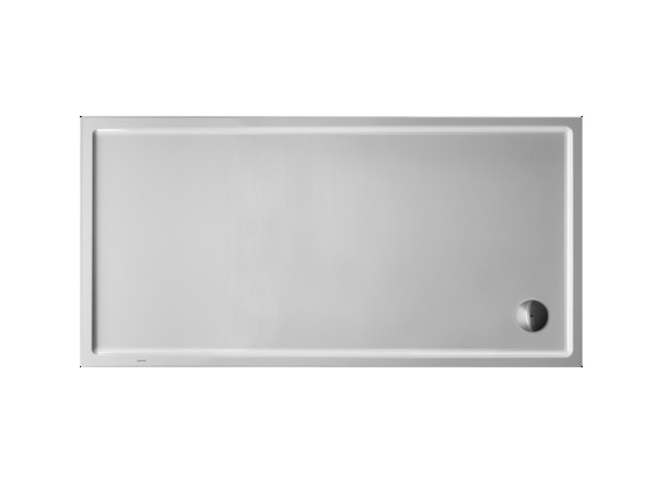 Rectangular acrylic shower tray STARCK | 180 x 90 by Duravit