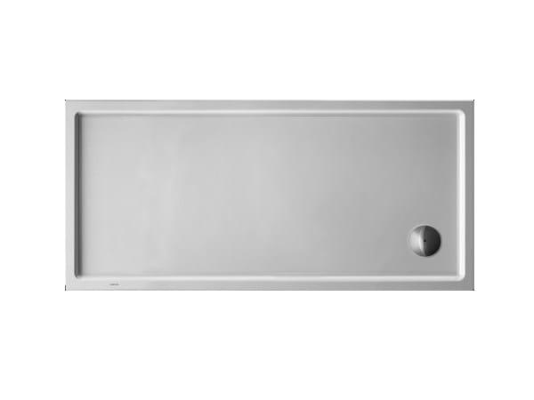 Rectangular acrylic shower tray STARCK | 150 x 70 - DURAVIT