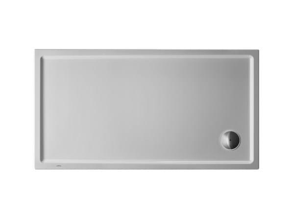 Rectangular acrylic shower tray STARCK | 140 x 75 by Duravit