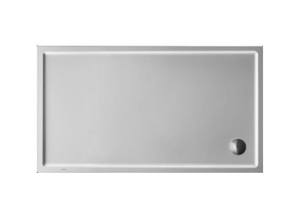 Rectangular acrylic shower tray STARCK | 160 x 90 - DURAVIT