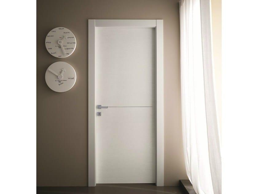 Hinged laminate door STILIA | Ash door - GIDEA