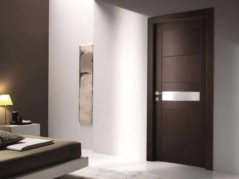Hinged laminate door STILIA | Wenge door - GIDEA