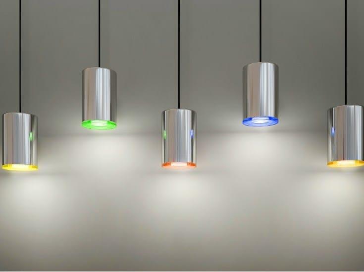 LED direct light pendant lamp CAN - Quasar