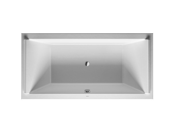 Rectangular acrylic bathtub STARCK | Bathtub - DURAVIT
