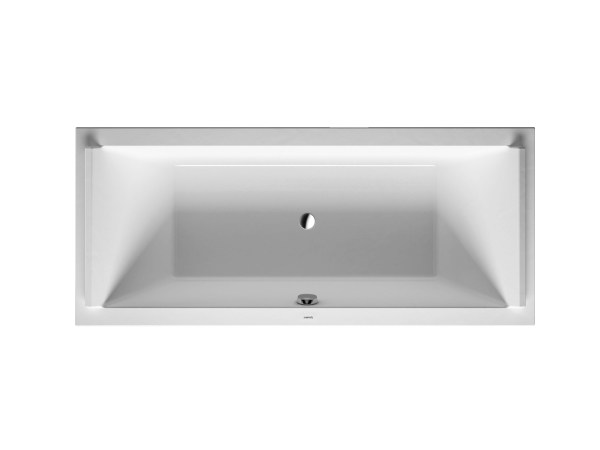 Rectangular acrylic bathtub STARCK | Rectangular bathtub - DURAVIT