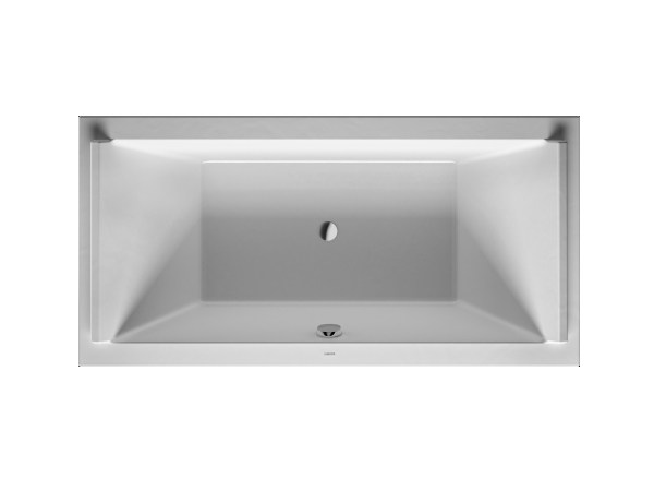 Rectangular acrylic bathtub STARCK | Rectangular bathtub - DURAVIT