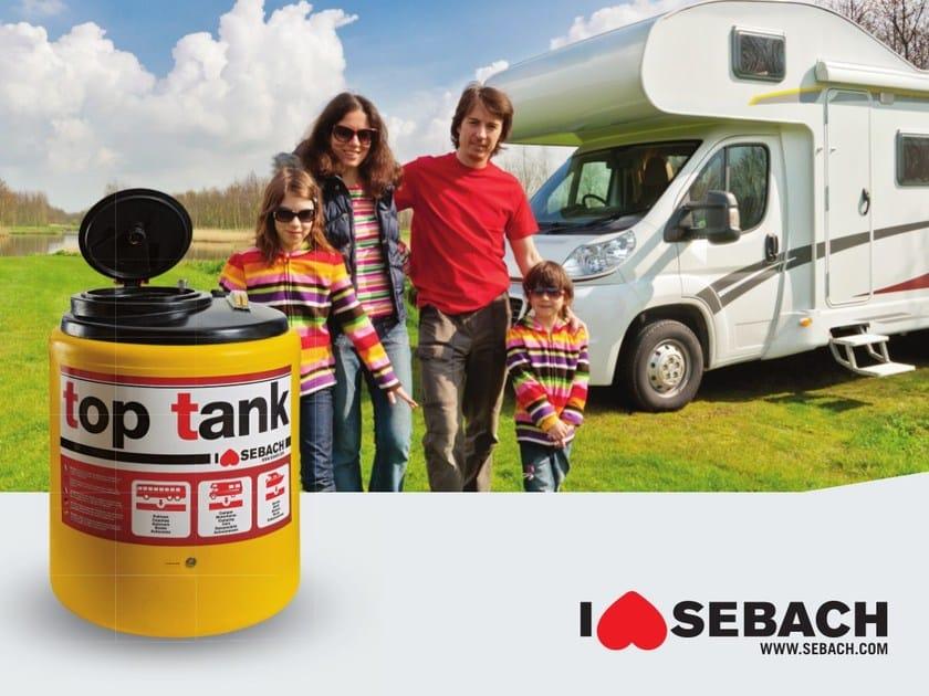 Portable toilet Top Tank by sebach