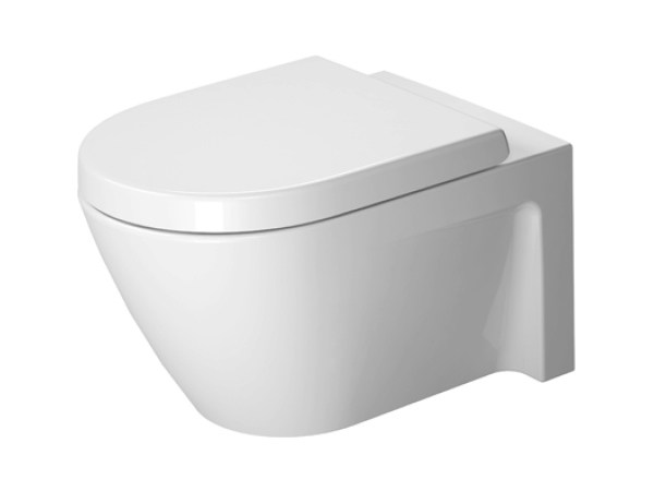 Wall-hung ceramic toilet STARCK 2 | Ceramic toilet by Duravit