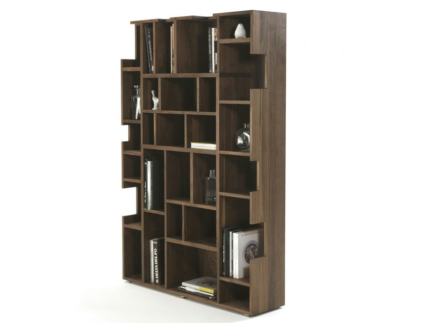 Open solid wood bookcase NEUMA - Riva 1920