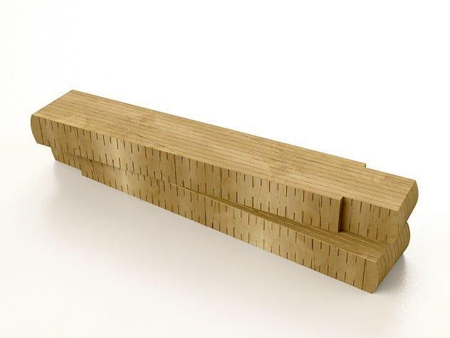 Solid wood bench METRO - Riva 1920