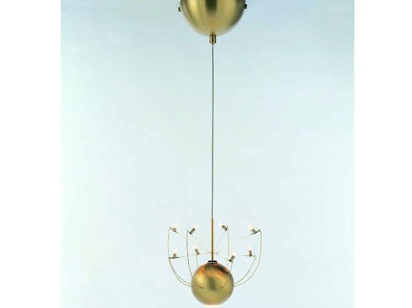 Halogen metal pendant lamp ORKJE | Pendant lamp - Quasar