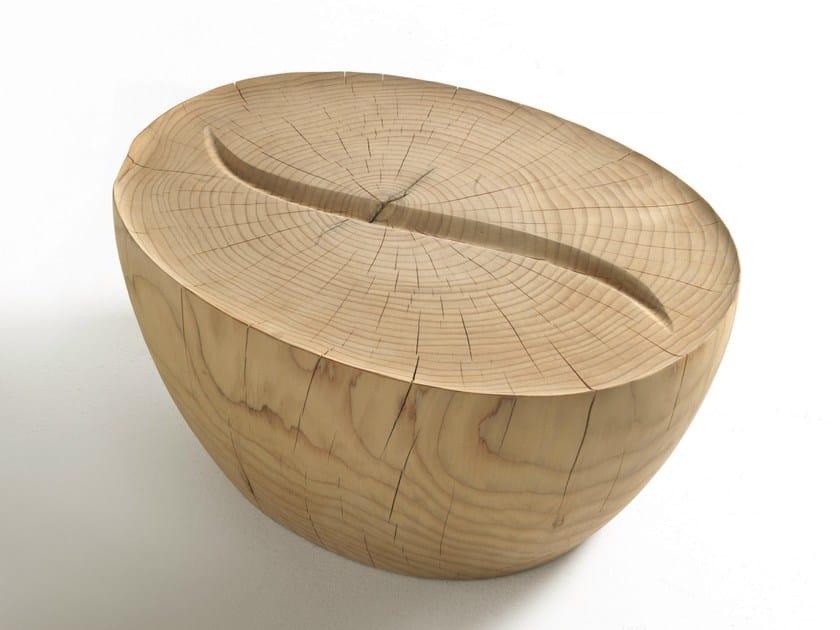 Oval solid wood coffee table KAVA COFFEE - Riva 1920