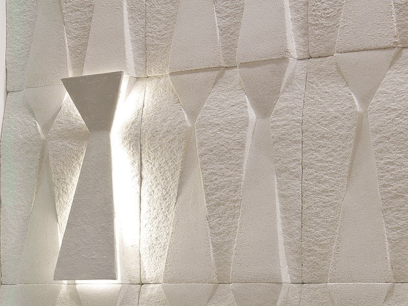 LED handmade wall lamp LED wall lamp by BIOPIETRA®
