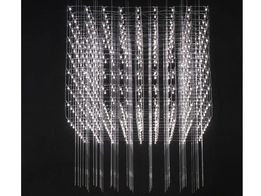 LED pendant lamp UNIVERSE SQUARE 100 by Quasar