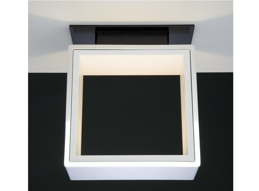 LED Corian® ceiling lamp WINDOW | Ceiling lamp - Quasar