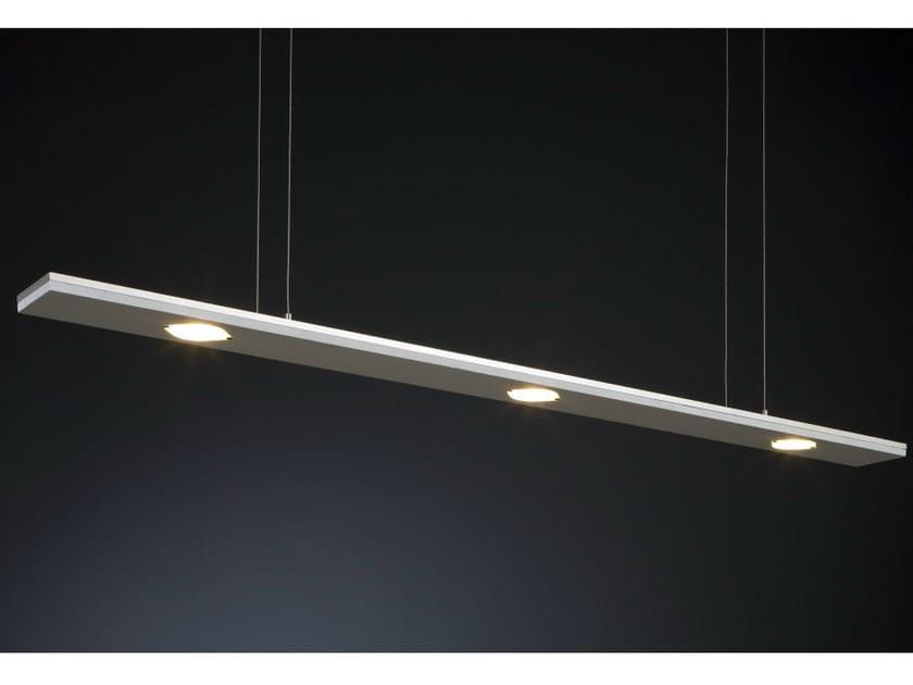 LED Corian® pendant lamp WINDOW XL - Quasar