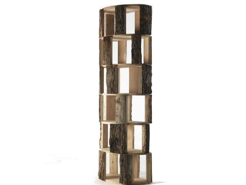 Open wooden bookcase IL BRICCOLONE by Riva 1920