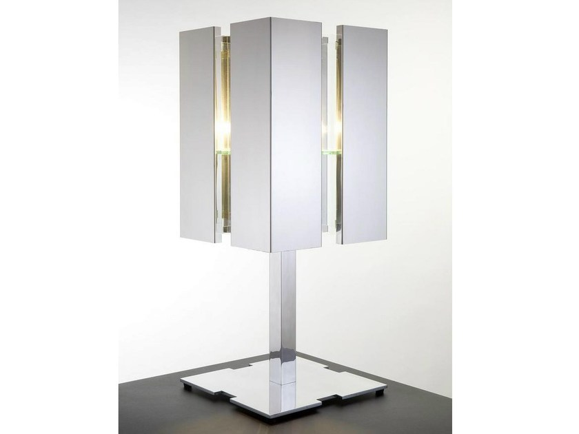 Halogen metal table lamp QUARTET | Table lamp - Quasar