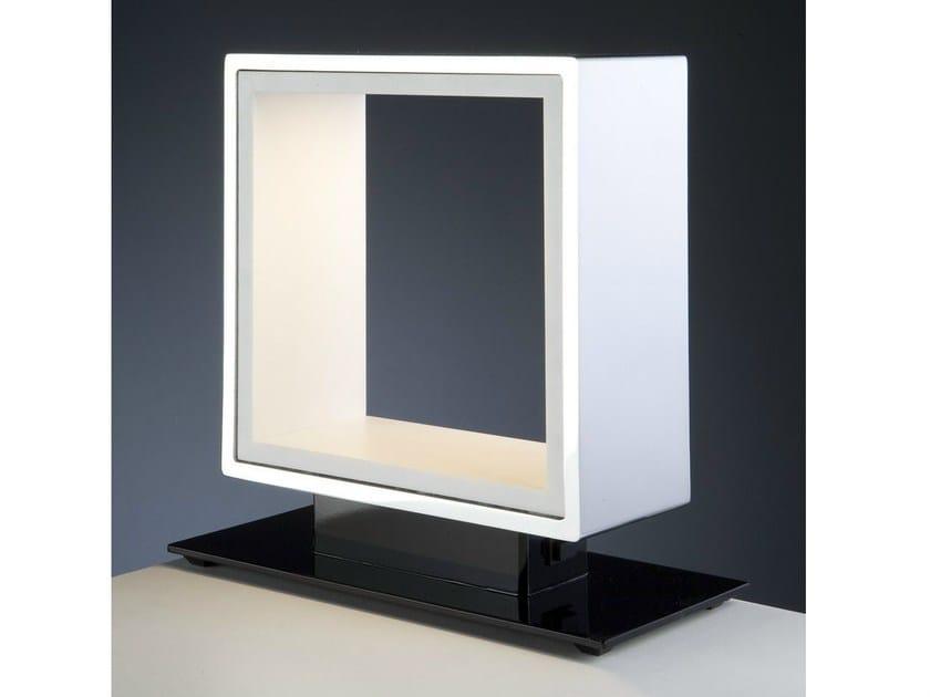 LED Corian® table lamp WINDOW | LED table lamp - Quasar