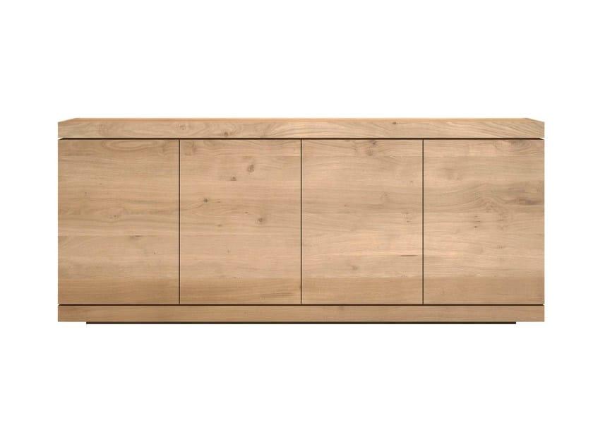 Solid wood sideboard with doors OAK BURGER | Solid wood sideboard - Ethnicraft