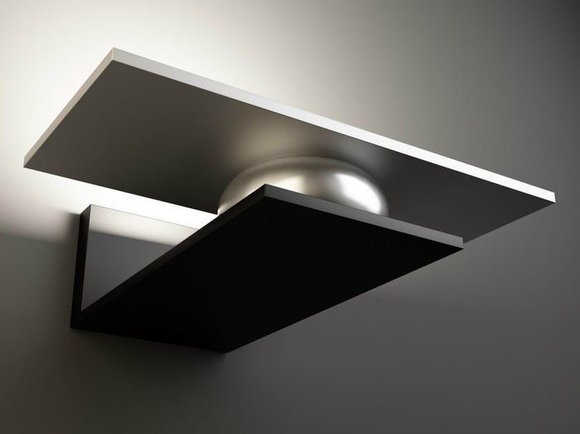 LED indirect light aluminium wall lamp EOS | Wall lamp - Quasar