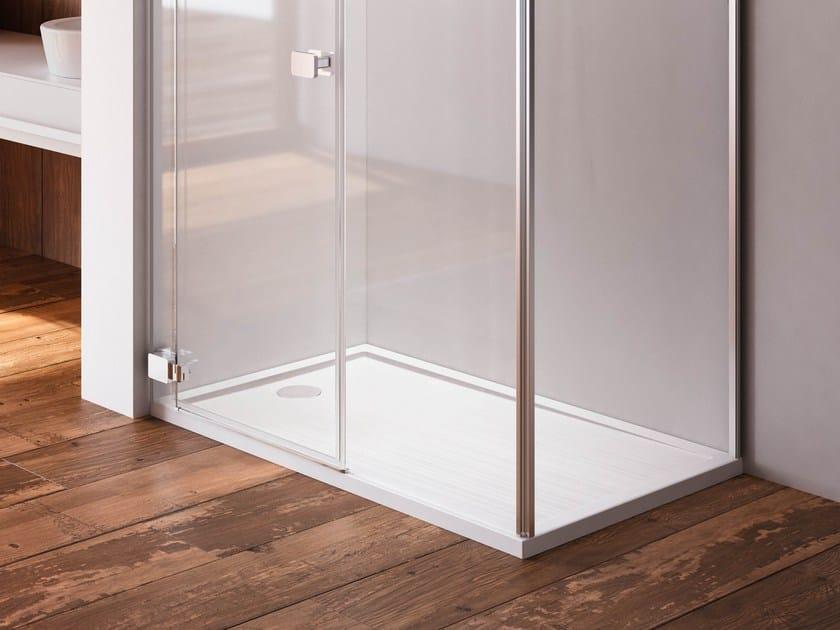 Piatto doccia antiscivolo rettangolare flat piatto for Piatto doccia rettangolare