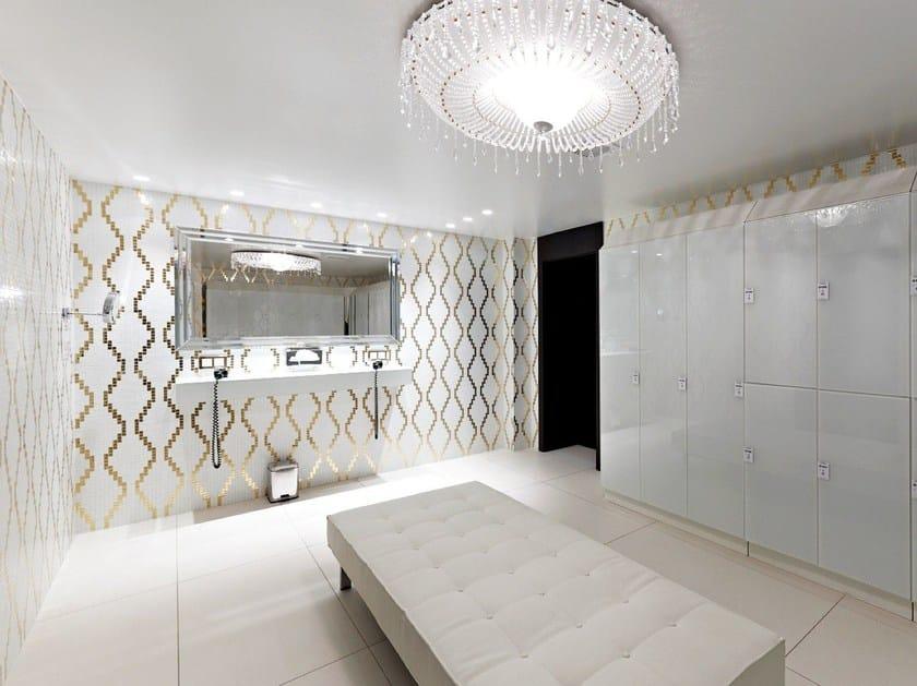 Glass mosaic WALLPAPER 1x1 - TREND Group