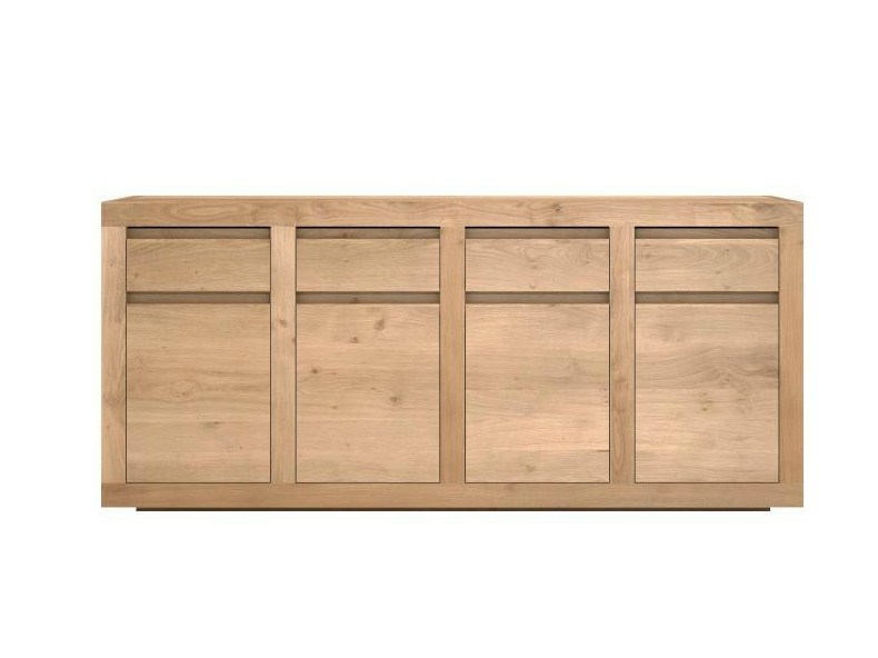 Oak sideboard with doors and drawers OAK FLAT | Oak sideboard - Ethnicraft