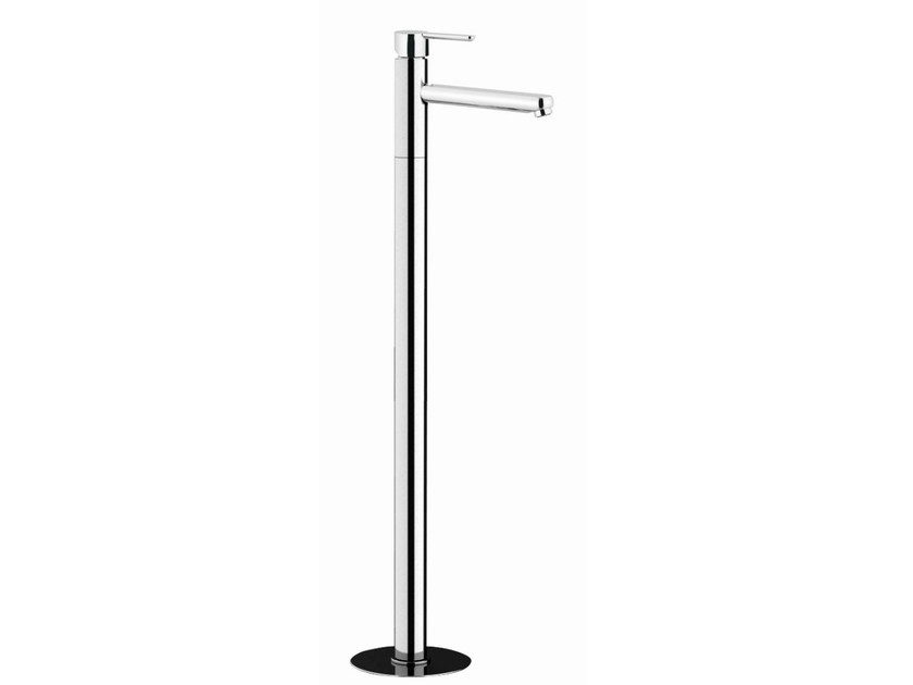 Floor standing single handle washbasin mixer NOIR | Floor standing washbasin mixer by Rubinetterie Mariani
