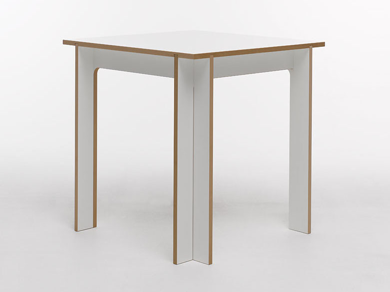 Rectangular MDF table TABLEGROUP | Square table by Tojo Möbel