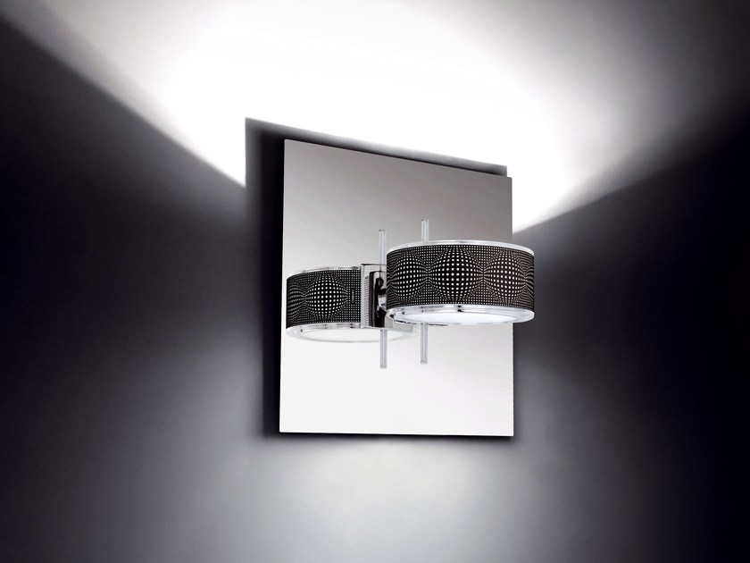 Direct-indirect light wall lamp COMPONI200 UNO RIFLESSA - Cini&Nils