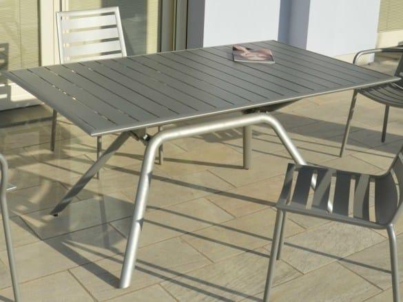 Rectangular garden table SOUTHBAY | Garden table - FIAM