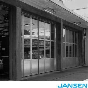 Sliding industrial door JANSEN PORTONI INDUSTRIALI - Jansen