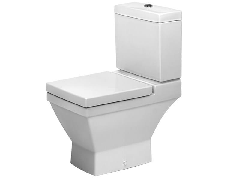 Close coupled ceramic toilet 2ND FLOOR | Close coupled toilet - DURAVIT