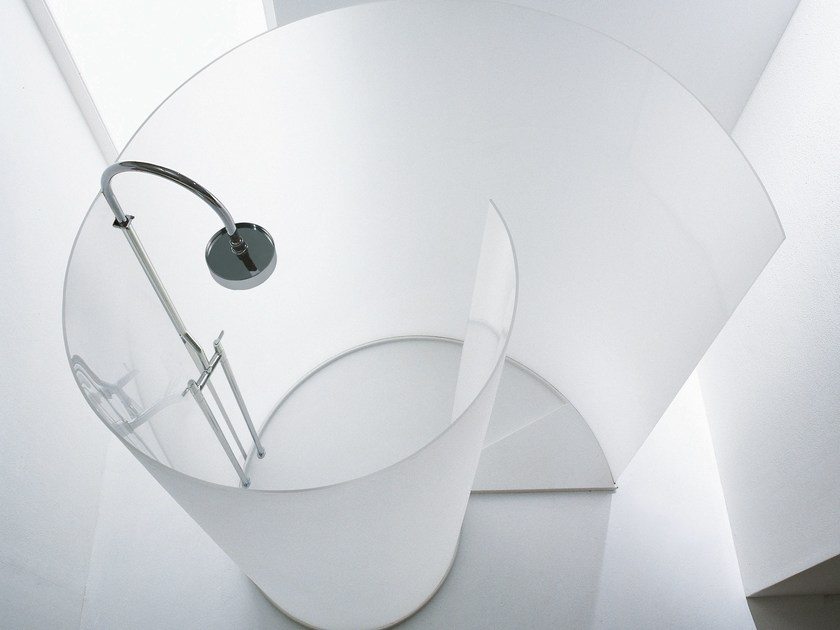 Free standing Parapan® shower cabin AGAPE CHIOCCIOLA - PARAPAN by Evonik Para-Chemie