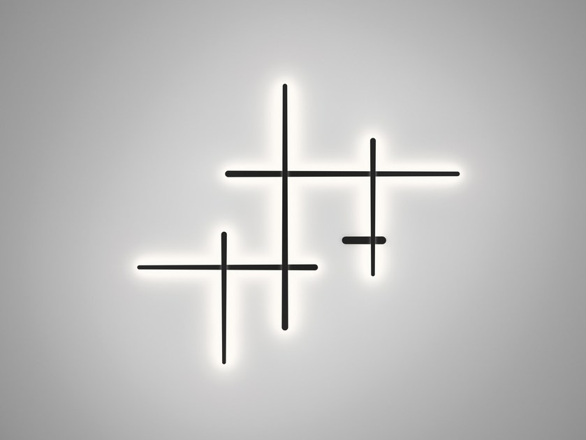 Polycarbonate wall lamp SPARKS 1700 - Vibia