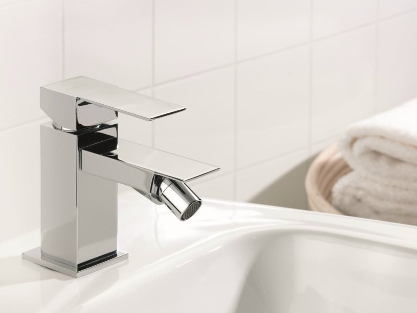 Chrome-plated single handle bidet mixer POLAR | Bidet mixer by Rubinetterie Mariani