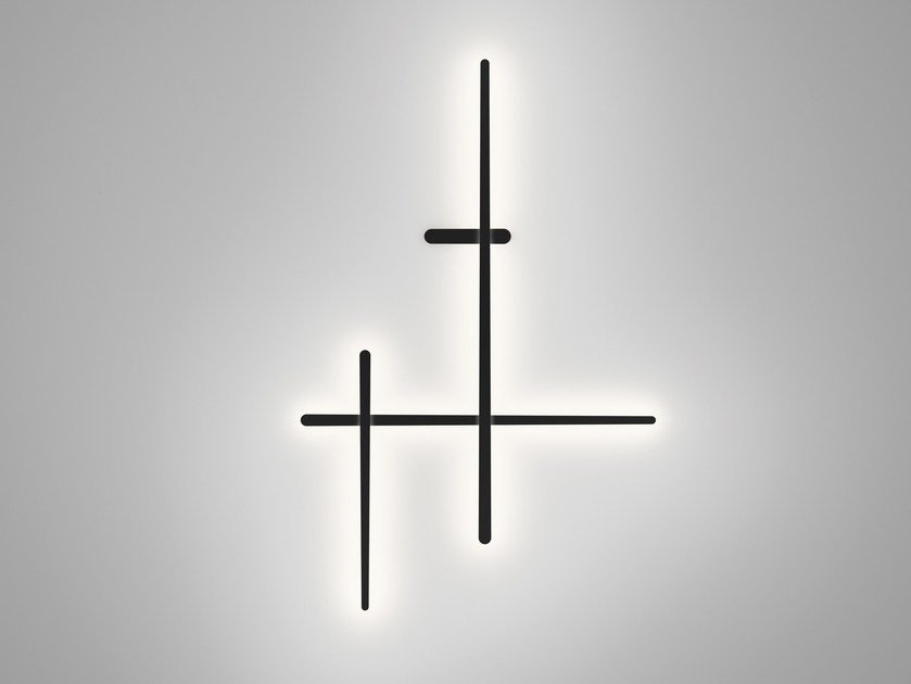 Polycarbonate wall lamp SPARKS 1715 - Vibia