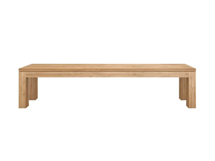 Solid wood bench OAK STRAIGHT | Bench - Ethnicraft