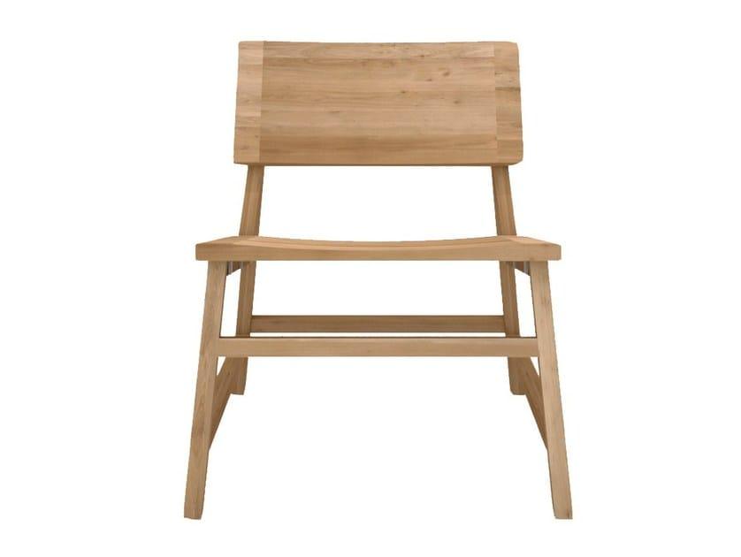 Solid wood easy chair OAK N2 by Ethnicraft