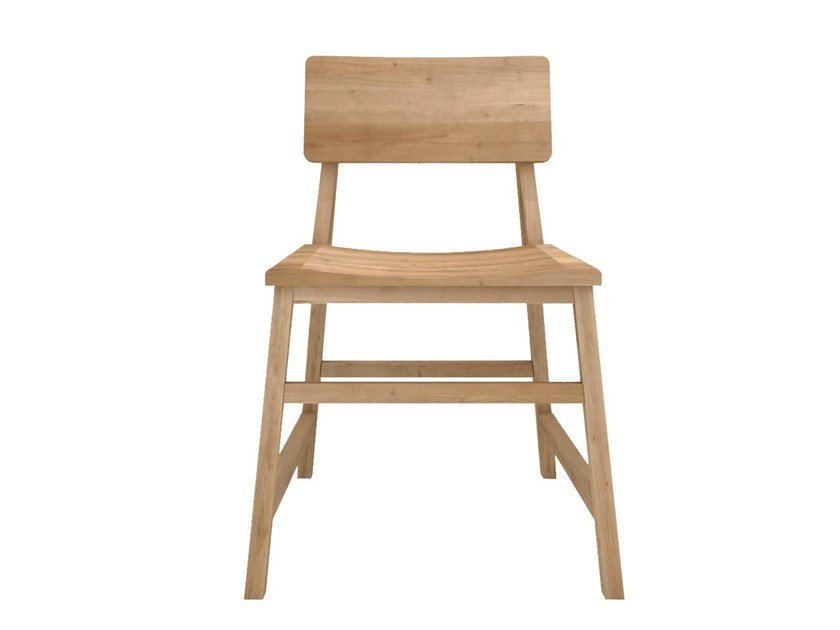 Solid wood chair OAK N1 by Ethnicraft