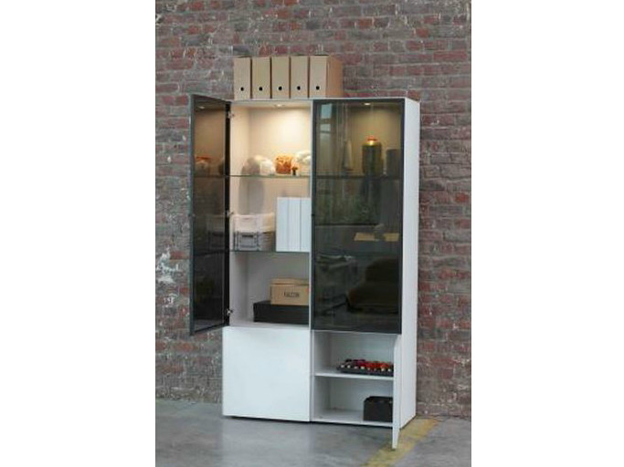 Lacquered display cabinet CUBE 193 DISPLAY CASE - Joli